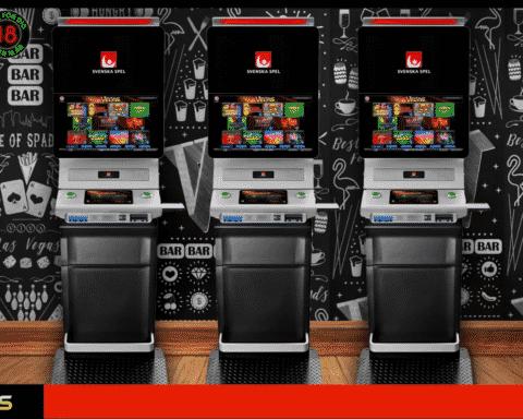 De nya Vegasautomaterna från Svenska Spel.