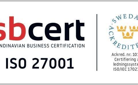 Novamedia ISO-certifierade.