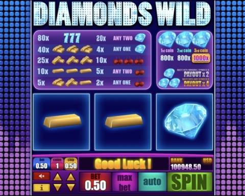 Spiffbet Diamonds Wild