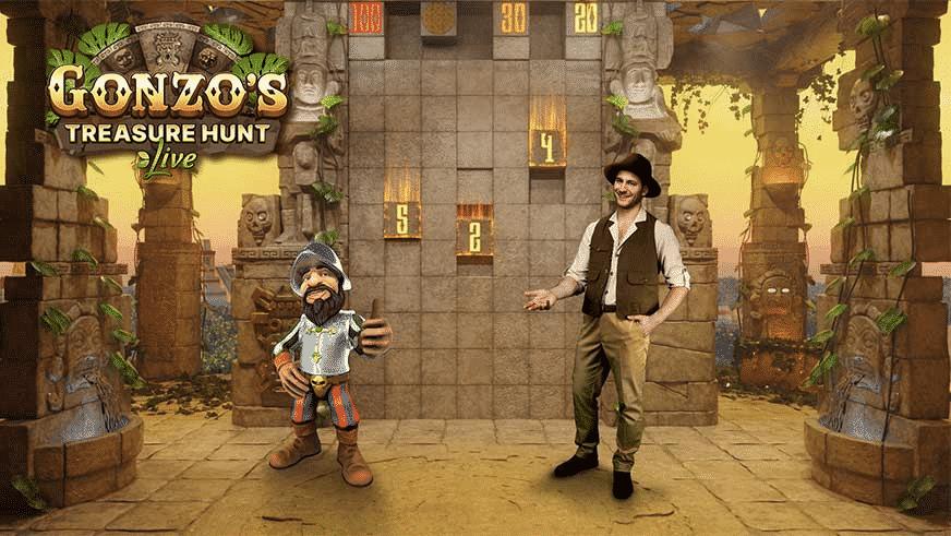 evolution Gonzo's Treasure Hunt